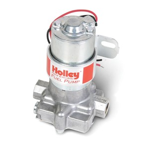 12-801-1 HOLLEY EL. FUEL PUMP RED 12V 7P